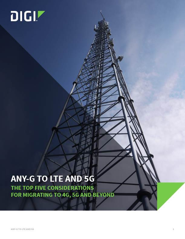 The Top 5 Considerations for Migrating to 4G, 5G and Beyond