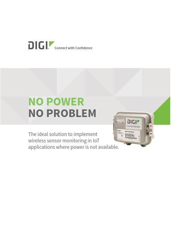 Digi Connect Sensor Technical Brief