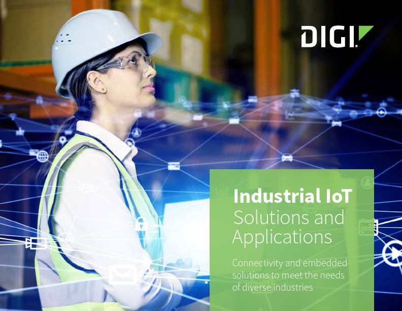 Industrial IoT Solutions and Applications cover page