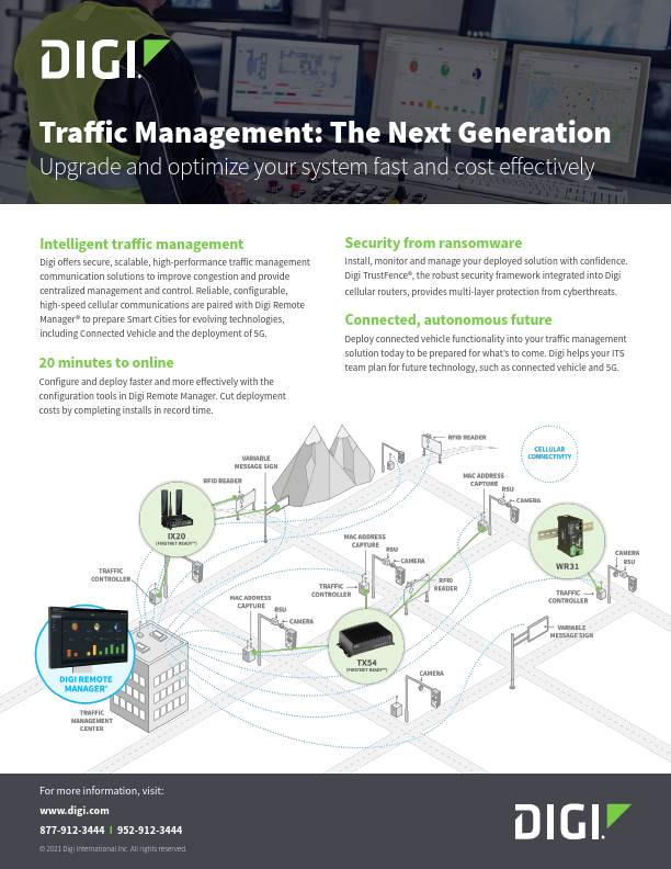 Traffic Management: The Next Generation