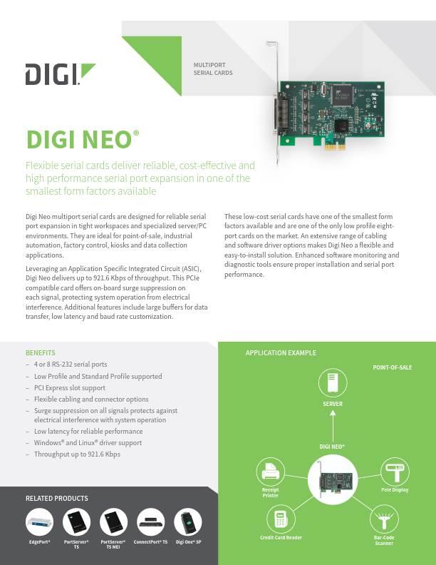 Digi Neo datasheet