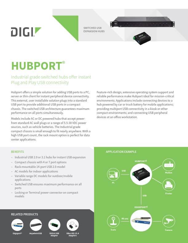 Hubport Datasheet