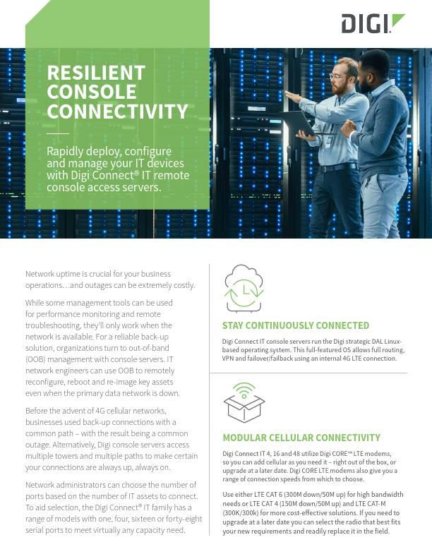 Resilient Console Connectivity