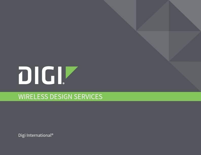 Wireless Design Services Brochure